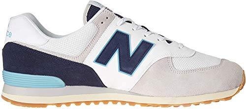 New Balance Herren 574v2 Sneaker, Grau (Grey/Navy Sou), 44.5 EU