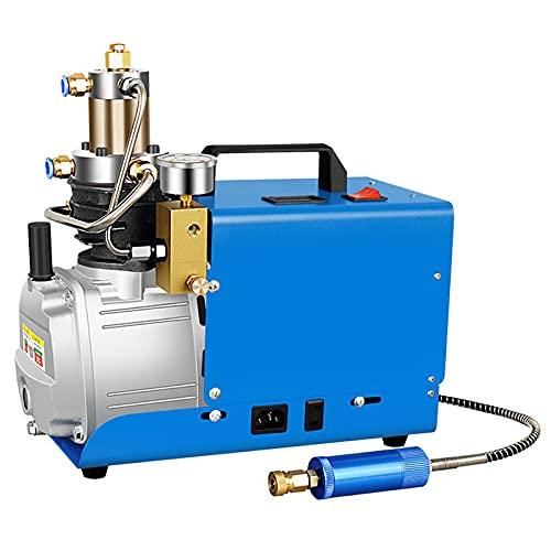 YAOBAO Hochdruck-Druckluftpumpe Elektrischer Luftkompressor PCP Luftpumpe Mit Leuchtmanometer 30MPA 4500PSI Für Normale Auto- Und Fahrradreifen, 220V 1800W