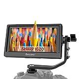 Desview Mavo P5 Monitor de Campo 5.5', DSLR-Monitor-Externo-Reflex-4K HDMI 1920 * 1080 con Pantalla LCD Sharp IGZO 450nit, Compatible para Canon Sony Nikon
