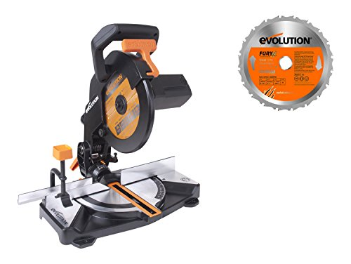 EVO 670210R Evolution Build Modelo R210CMS Ingletadora Portátil Compacta, 1200 Watts, 230 Volts