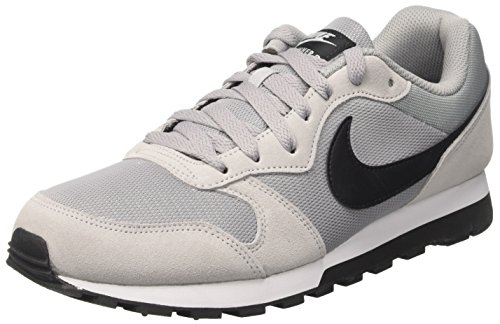 Nike MD Runner 2, Zapatillas de Running Hombre, Gris (Wolf Grey/Black-White), 43...