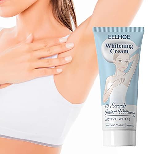 Whitening Cream, Aufhellung Creme, Bleaching Cream, Whitening Cream für für Achselhöhle, Knie, Ellbogen, empfindliche und private Bereiche