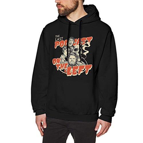 MISS-YAN Herren Last Podcast On The Left Long Sleeve Hooded Sweat Shirt Pullover Gr. XXL, siehe abbildung