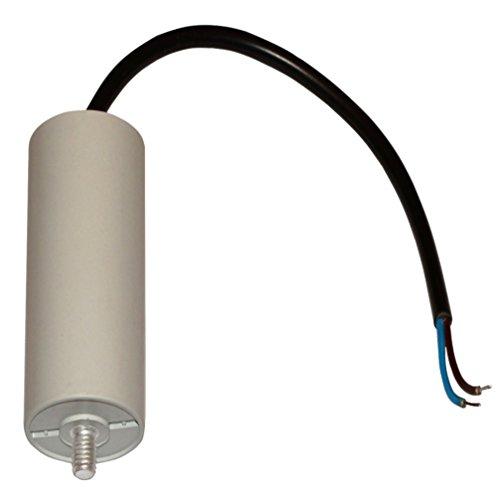 AERZETIX: Condensatore di marcia e avviamento motori elettrici monofase 450V a 50µF C10531