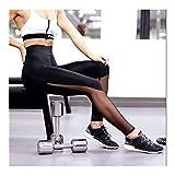 HXSZWJJ Mujeres Malla Negra Transparente cómodos Leggings Pantalón de Entrenamiento Sexy Slim Fit Leggins de Estribo for Las Mujeres Activewear (Color : P0485 Black, Size : S)
