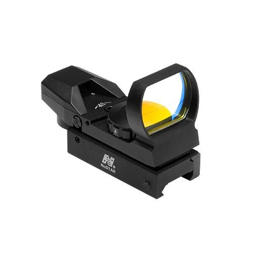 Lowest Price! NcStar D4B Red Dot Reflex Sight /4 Different Reticles/weaver Base/black