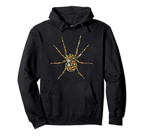 Spinne Spinnennetz Terrarium Arachnologie - Haustier Spinne Pullover Hoodie