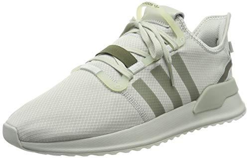 adidas U_Path Run, Zapatillas de Gimnasia Hombre, Plateado (Ash Silver/Ash Silver/Raw Khaki Ash Silver/Ash Silver/Raw Khaki), 47 1/3 EU