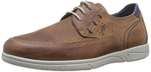 Fluchos Sumatra, Zapatos Cordones Derby Hombre, Marrón