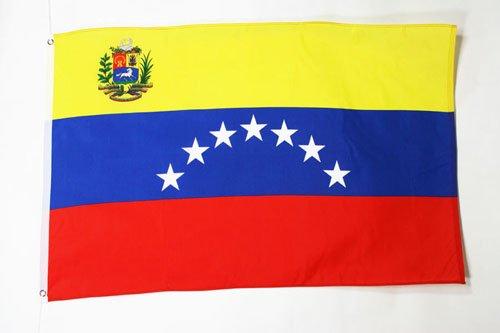 AZ FLAG Flagge Venezuela ALT 90x60cm - BOLIVARISCHE Republik Venezuela Fahne 60 x 90 cm - flaggen Top Qualität