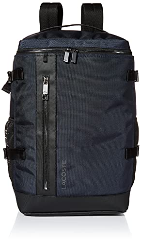 Lacoste Men's L on The Go Square Backpack, Porpoise Grey, ONE
