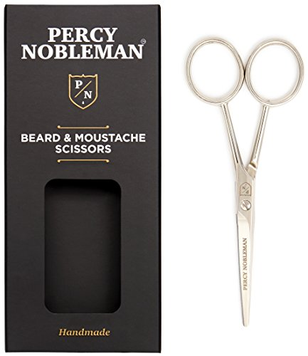 Percy Nobleman Beard Scissors–Barba Tijeras