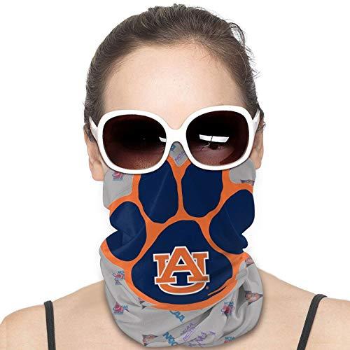 Auburn-Tiger-s Mask College Team Logo Neck Warmer Gaiter Balaclava Ski Mask Cold Weather Face Mask Winter Hats Headwear for Men Women