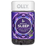 OLLY Restful Sleep Gummy Supplement with Melatonin & L-Theanine Chamomile, BlackBerry Zen,Supports a Healthy Sleep Cycle* Packaging May Vary