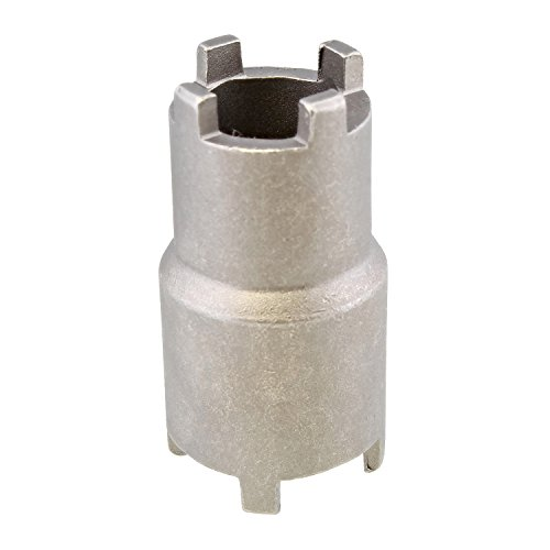 ABN 1/2in Drive Clutch Remover 4-Pin Spanner Socket – 20mm & 24mm Lock Nut Removal Tool for Honda Motorcycle ATV