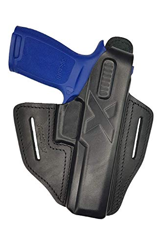VlaMiTex B25 Leather Holster Fits for Sig Sauer P250 / P320...