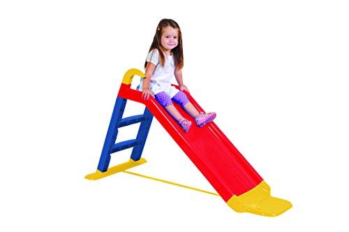 KitGarden- Tobogán con Escalera + extensión, Rojo, Children Slide, Color (Grupo F....