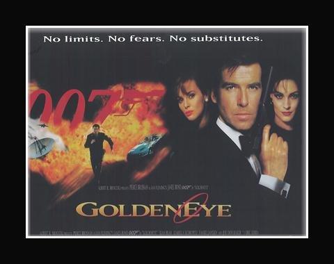 Stick It On Your Wall James Bond Mini-Poster, GoldenEye, matt, 30 x 40 cm