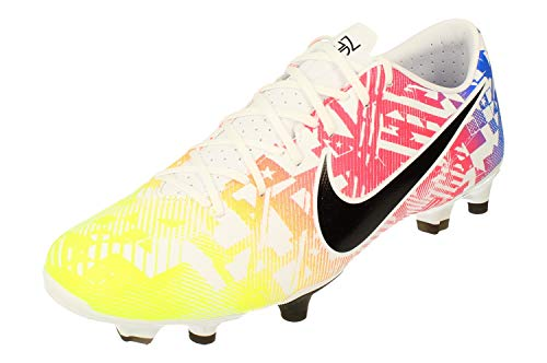 Nike Mercurial Vapor XIII Academy NJR Multi-Ground Cleats (Numeric_9) White/Black/Blue