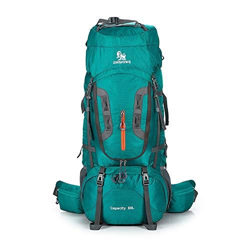 Zaino sportivo giornaliero di Trekking Zaino Ad alta capacità 80L zaino da viaggio multifunzionale impermeabile Trekking escursione del campeggio arrampicata alpinismo Zaino for lo sport esterno per i