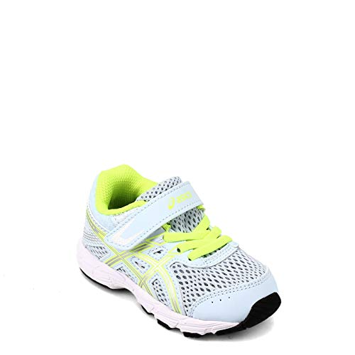 ASICS Kid's Contend 6 TS Running Shoes, K9, Soft Sky/Pure Silver