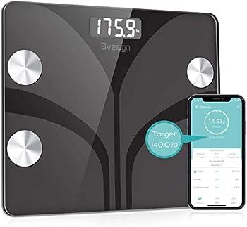 Beiugn Smart Wireless Digital Bathroom BMI Weight Scale
