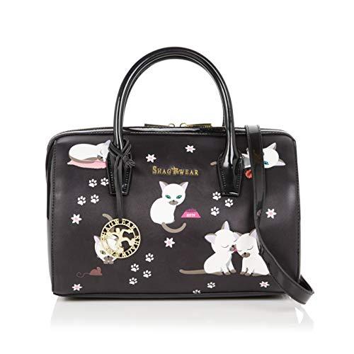 Shagwear Damen Handtasche Trendy Mehrfarbig Umhängetasche Henkeltasche (Kätzchen/Kittens)