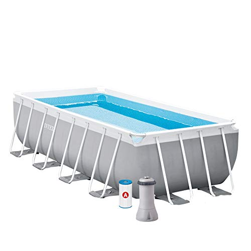 INTEX Kit piscine Prism Frame rectangulaire 4.88 x 2.44 x...