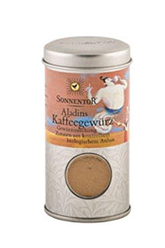 Bio Gewürz Aladins Kaffeegewürz Streudose 35g Sonnentor