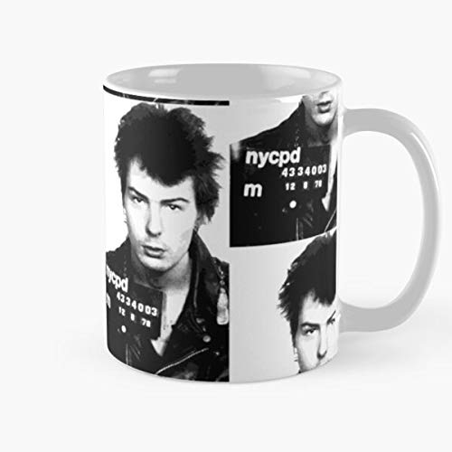 In Mugshot My Celeb Vicious Island Sid Junkies Motorcycle Me The Nyc Mind Nancy Jacket Hotel Boots Bury Chelsea Rikers Famous Leather Never And Best 11 Ounce Ceramic Coffee Mug