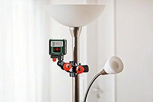 Bosch Kreuzlinienlaser Quigo (3. Generation, Reichweite: 10 m, in Box, Rot Laser ) - 2