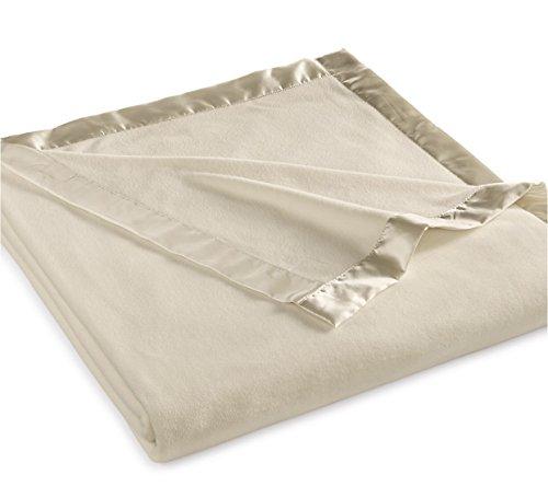 Martha Stewart Collection Soft Fleece Queen Blanket Bedding