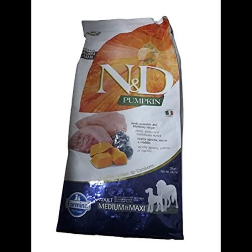 Farmina-Ndgrainfree Zucca-Agnello-Mirtillo kg 12-M/M