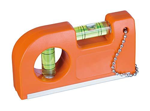 Waterpas met magneet en clip, set van 2