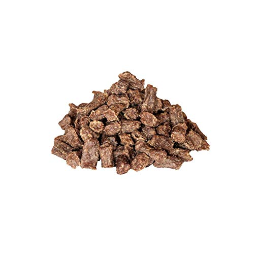 Groby´s Futterkiste Büffelfleisch Minis 98% reines Fleisch allergenfrei, Verpackungseinheit:100 Gramm