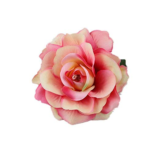 LLine Fleur Cheveux Accessoires pour Les Femmes Mariée Plage Rose Floral Cheveux Clips DIY Mariée Coiffure Broche De Mariage Épingle À Cheveux, 22