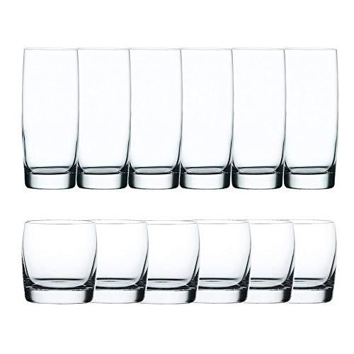 Spiegelau & Nachtmann, 12-teiliges Universalgläser-Set, Kristallglas, 550 ml, Vivendi, 0090091-0