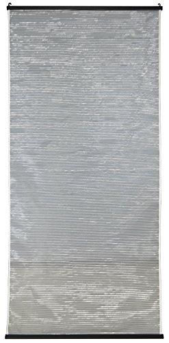 クールホワイト&グレーリバーシブルすだれ60×135ホワイト&グレーN-2305