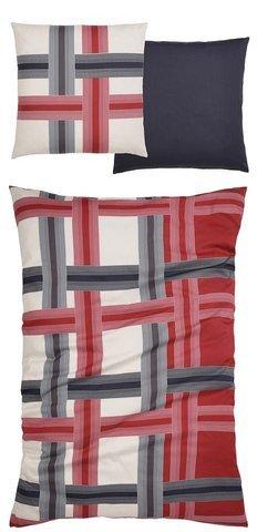 Ecorepublic Home Bettwäsche, Ecorepublic Home, »Bonnie« rot Aus 100% Baumwolle hergestellt