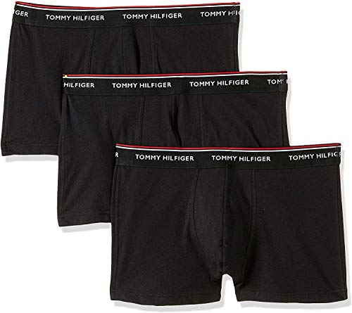 Tommy Hilfiger Herren 3p Trunk Shorts, Schwarz (Black 990), XL (3er Pack)