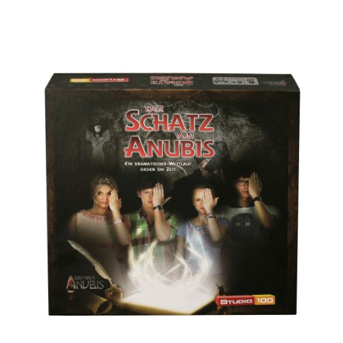 Studio 100 - MEHADE000170 Das Haus Anubis : Brettspiel Der Schatz von Anubis