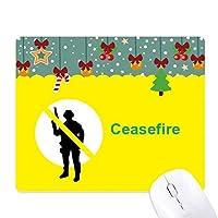 平和を保つ ゲーム用スライドゴムのマウスパッドクリスマス