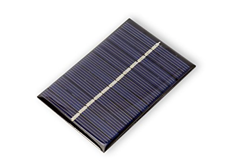 MissBirdler 0,6Watt 6V 100mA Epoxid Solarzelle Solar modul Solarpanel für Arduino Modellbau DIY