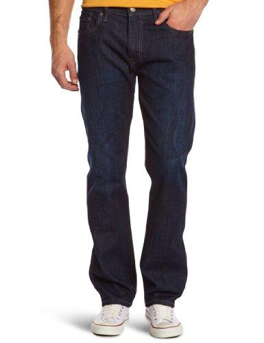 Levi's Herren Jeans Normaler Bund Levi's 504 Regular Straight Fit 29990 Gr. 29/34, Blue (Dark Indigo - Flat Finish)