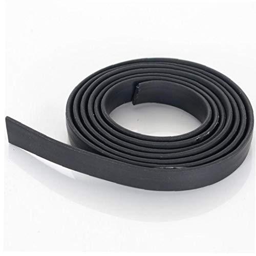 BYFRI Hoge hoeveelheid Siliconen Rubberen Band Diy Materiaal Voor Ring/Armband Synthetische Platte Effen Rubber Kralen Koord