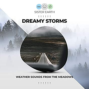 ! ! ! ! ! !  Dreamy Storms Weather Sounds from the Meadows  ! ! ! ! ! !