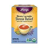 海外直送品Yogi Teas / Golden Temple Tea Co Stress Relief Tea Honey Lavender, Honey Lavender 16 tea bags