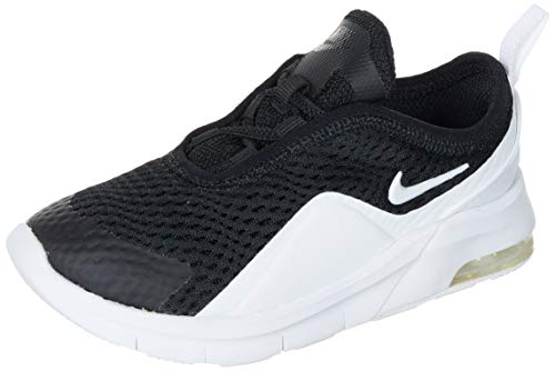Nike Air MAX Motion 2 (TDE), Running Shoe, Black/White, 25 EU