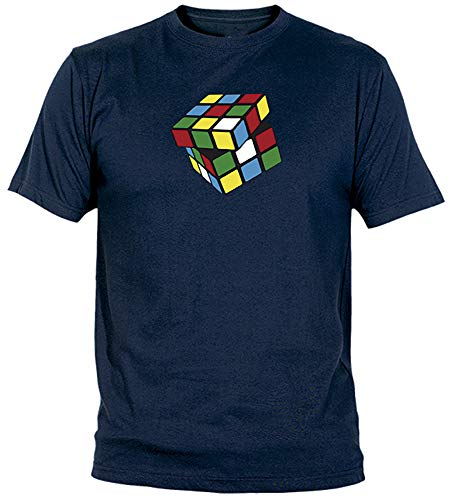 Camisetas EGB Camiseta Cubo Mágico Adulto/niño ochenteras 80´s Retro