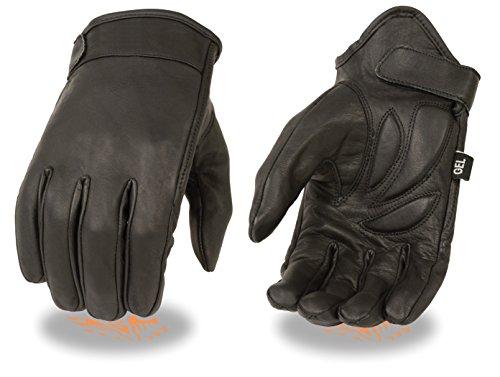 Guantes de piel de vaca para motocicleta de hombre Cruiser (5X-Large)